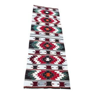 Vintage Handwoven Anatolian Runner - 3′5″ × 10′2″