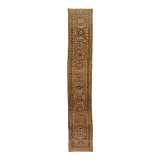 Vintage Bakshaish Long Wool Runner For Sale