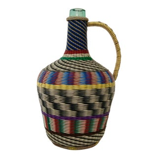 African Wire Wrapped Jug