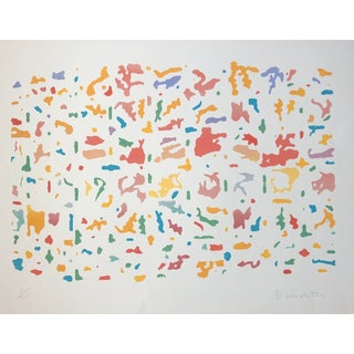 """""""Garden"""" Pop Art Serigraph by Roger Benedetti, 1979 For Sale"""