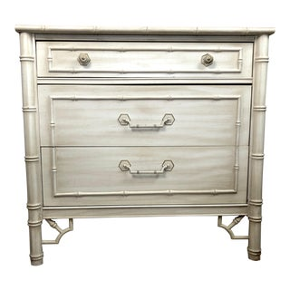 Chippendale Thomasville Allegro Faux Bamboo Chest