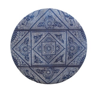 Indigo Dot Upholstered Panel