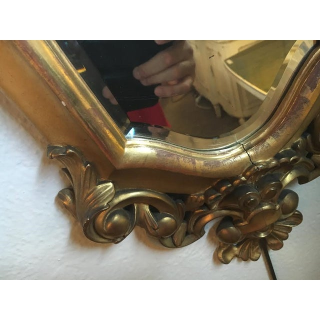 Italian Gilt Carved Mirrors - A Pair - Image 5 of 5