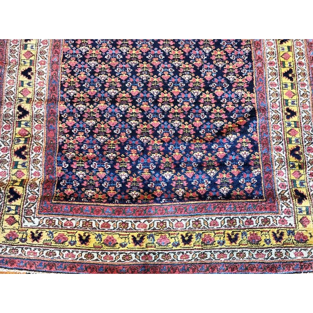 1920s Antique Gallery Size Persian Malayer Rug - 5′6″ × 20′ For Sale - Image 5 of 6