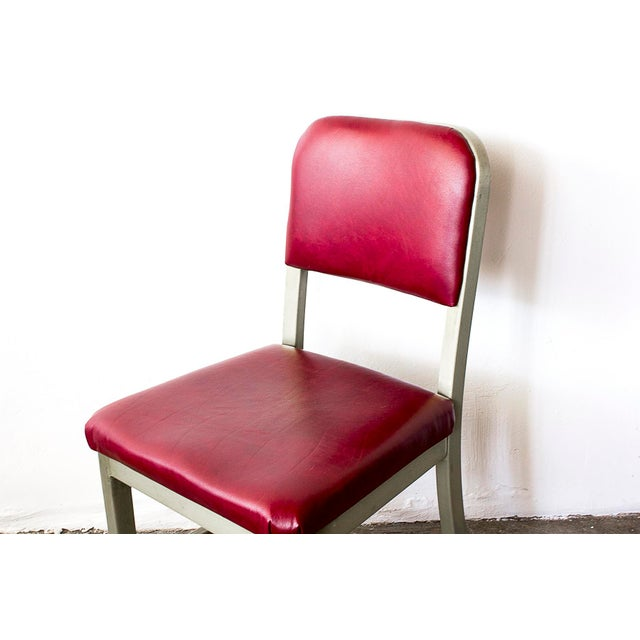 Refinished GoodForm Aluminum Side Chairs - Set of 6 For Sale - Image 4 of 6