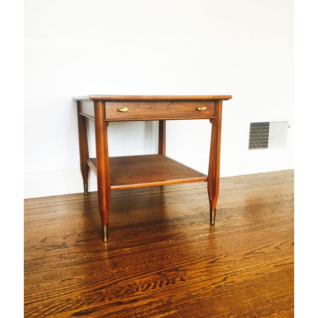 Imperial Mid-Century Wood Side Table - Image 3 of 7