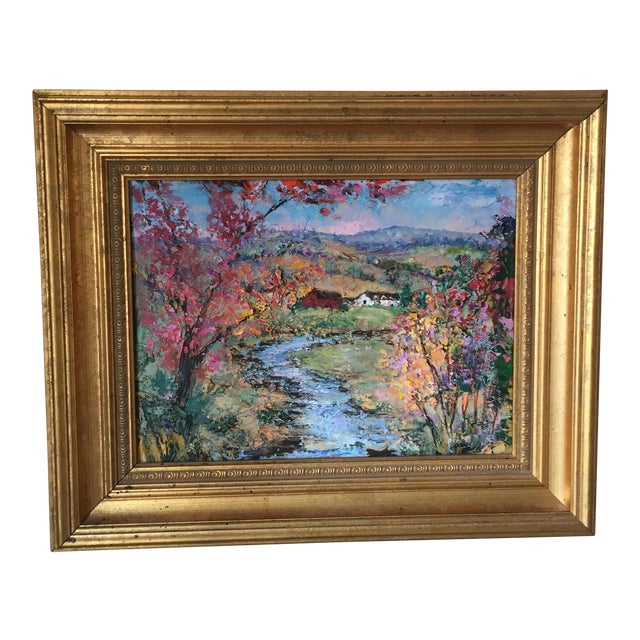 Allison Kibbe Landscape Oil Painting For Sale
