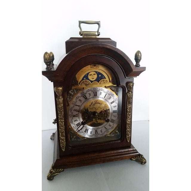 This piece was purchased from a vintage collector a few years ago. This stunning mantle clock dates back to the 1990s. It...