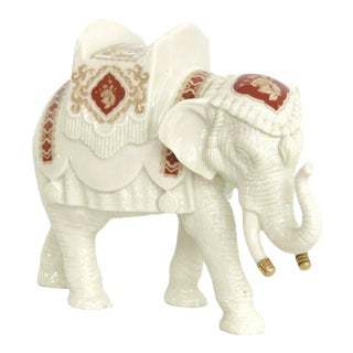 Lenox Elephant Sultans Court Collection Porcelain Figurine For Sale