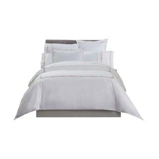Saint-Tropez Embroidered Duvet Cover King - Champagne/Biscuit For Sale