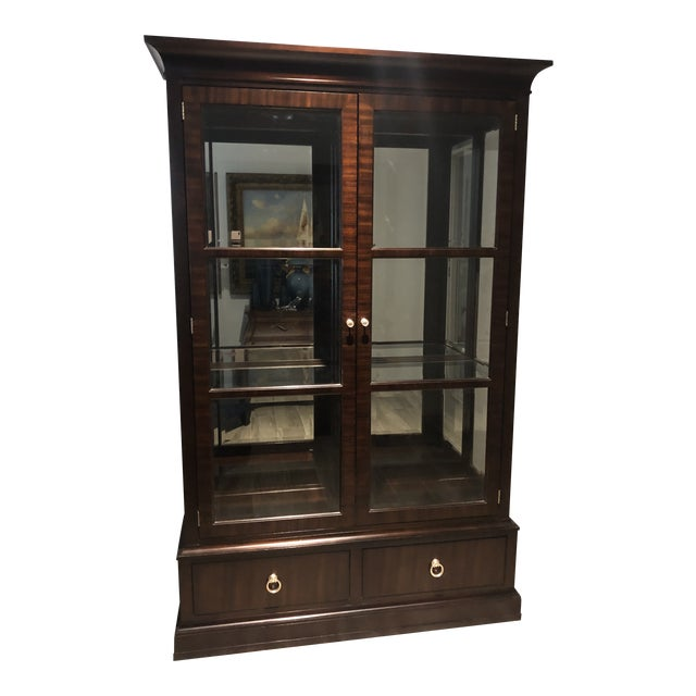 Ethan Allen Brighton China Cabinet For Sale