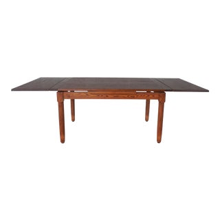 Arts & Crafts Mission Oak Dining Extension Table