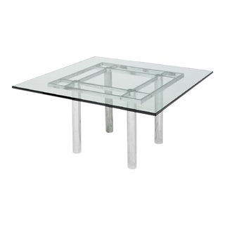 1930's Andre Table by Tobia Scarpa for Knoll International, Marked Fontana Arte For Sale