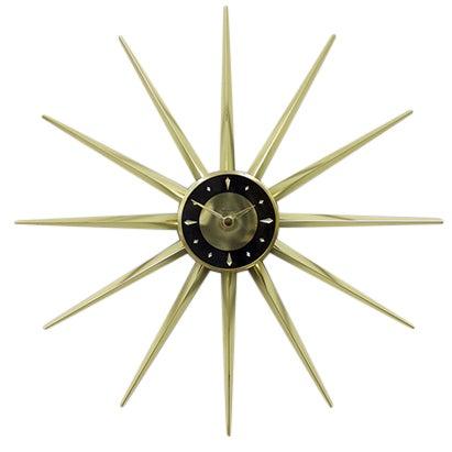 """1950s Vintage """"Master Star"""" Clock For Sale"""
