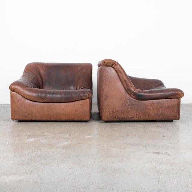 De Sede De Sede Ds46 Buffalo Leather Loveseat For Sale - Image 4 of 7
