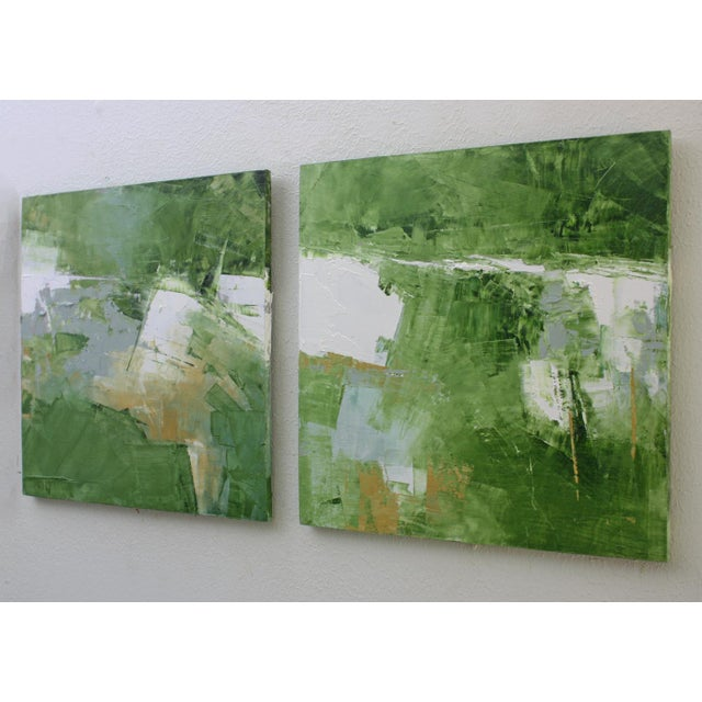 Paul Ashby Abstract Landscape Oil Painting by Paul Ashby For Sale - Image 4 of 5