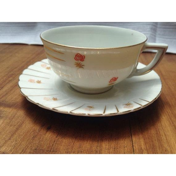 Deco Tea Set from Czechoslovakia - Image 4 of 6