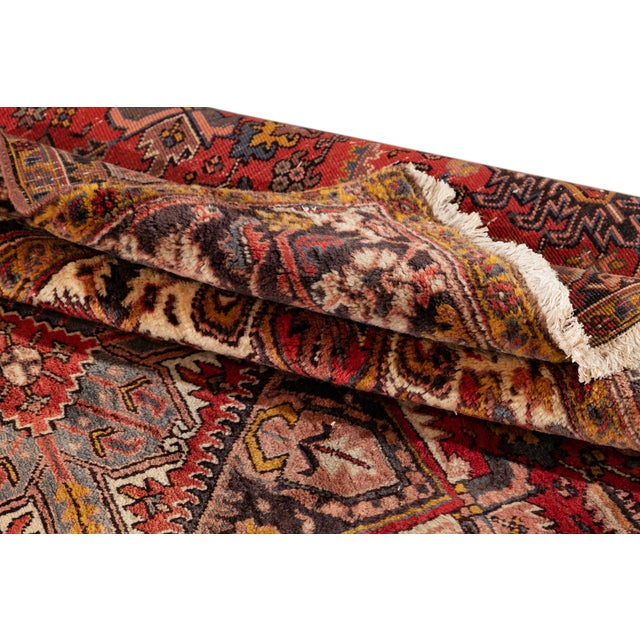 """Vintage Persian Rug, 6'5"""" X 8'9"""" For Sale - Image 4 of 9"""