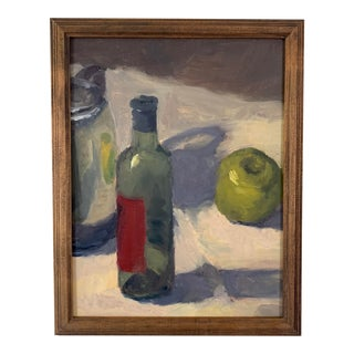 Vintage Still Life Oil Painting Painting For Sale