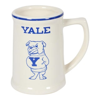 Vintage Yale Ivy League University Bulldogs Mascot Alumni Mug For Sale