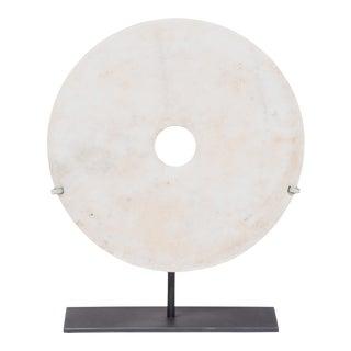 Mottled Bai Bi Disc For Sale