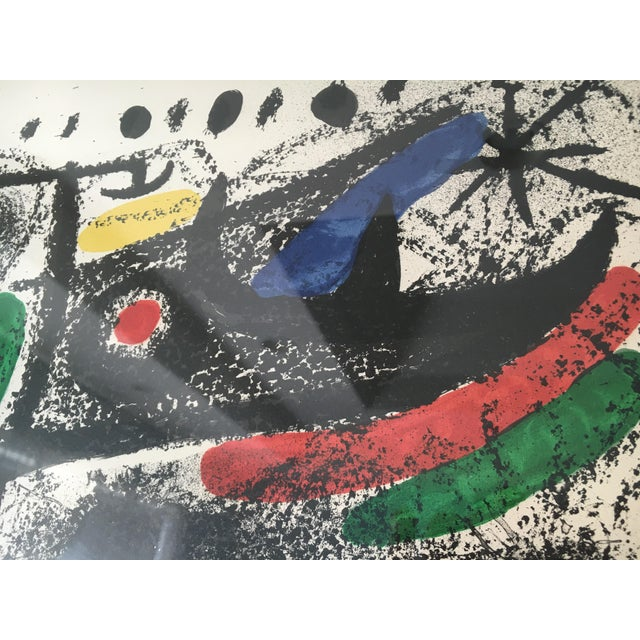 "Joan Miro Mid-Century ""Star Scene"" Signed Original Lithograph - Image 10 of 10"
