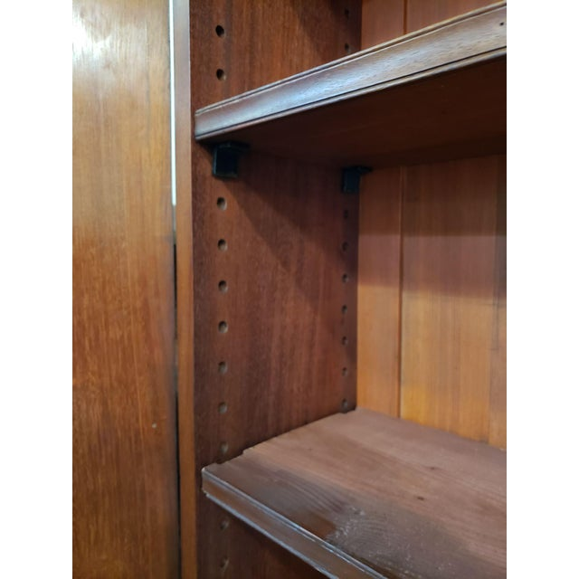 Victorian Mahogany & Glass Door Cabinet. For Sale In San Francisco - Image 6 of 8