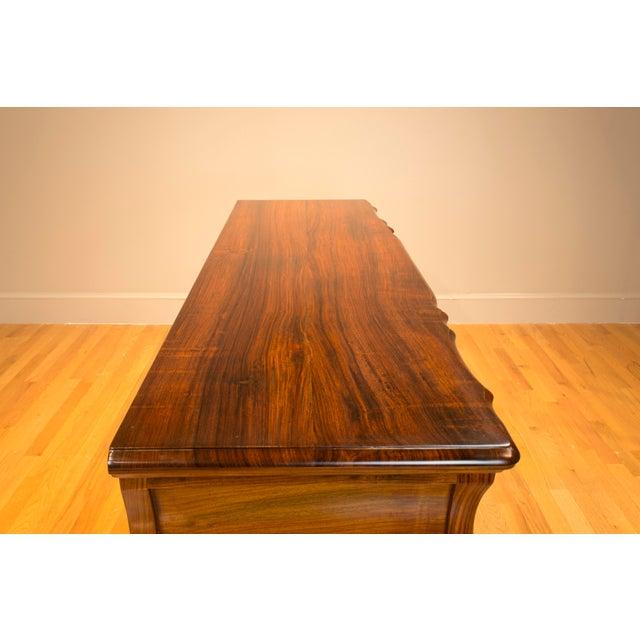 Brown Ophis Solid Rosewood Commode For Sale - Image 8 of 8
