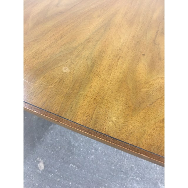 Brown John Widdicomb Mid-Century Dining Table & Chairs - Set of 9 For Sale - Image 8 of 13