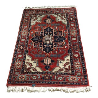 Handmade Persian Rug - 4′ × 6′ For Sale