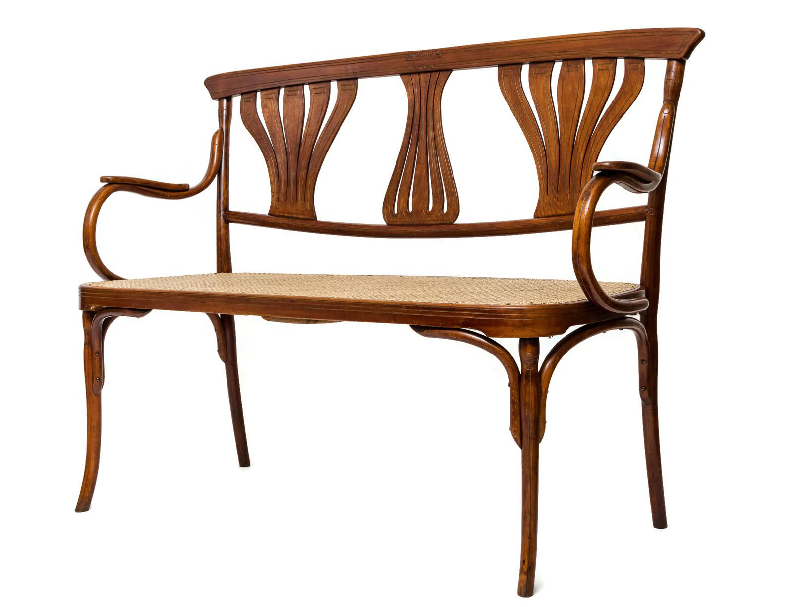 This Absolutely Stunning Settee Was Made, And Is Marked, By Jacob U0026 Josef  Kohn