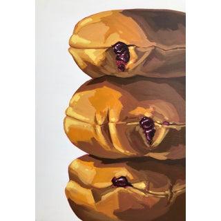 Pop Art Painting, Love Buns For Sale