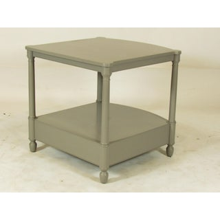 1950s Empire Baker FurnitureGray Lacquer End Tables - a Pair Preview