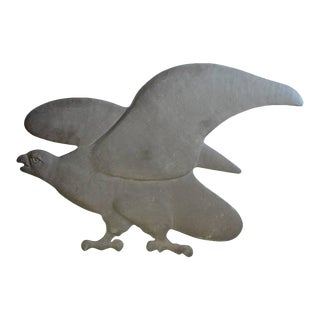 Early 20th Century American Cast Iron Eagle For Sale