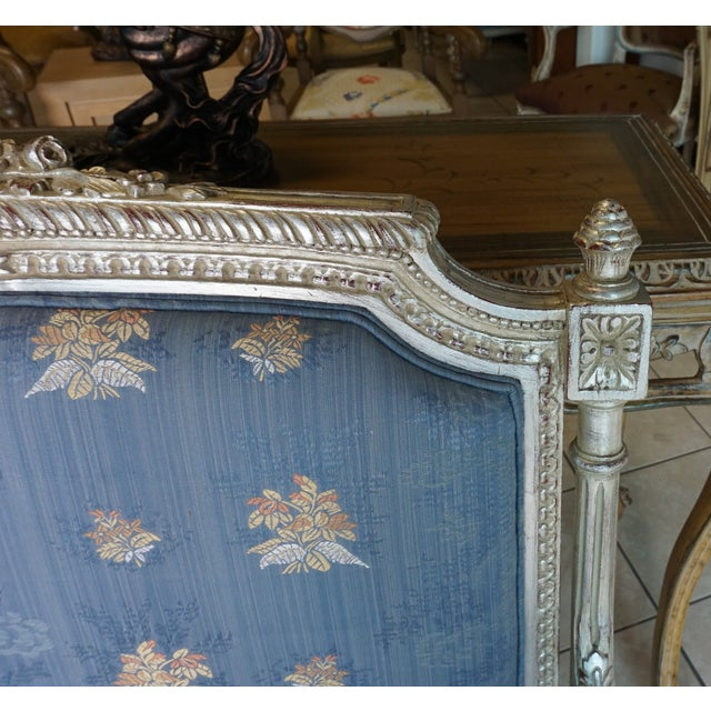 Hand Carved European Settee - Image 7 of 8