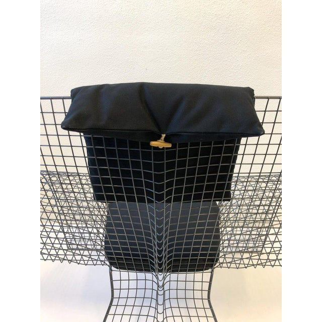 Memphis Steel Mesh Chair by D'Urbino Lomazzi for Zerodesigno For Sale - Image 9 of 11