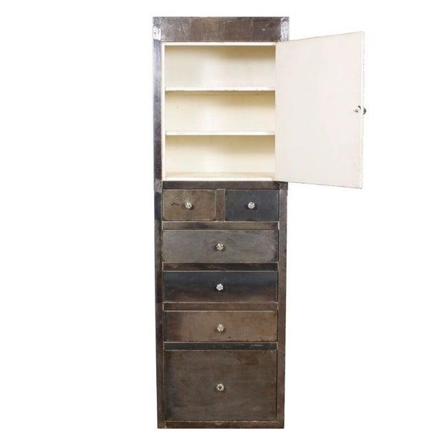 Vintage Industrial Medical Cabinet - Image 3 of 5