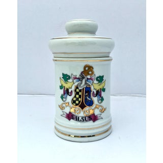 Vintage Porcelain Apothecary Jar Preview