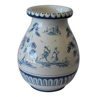 Vintage Italian Ernan Ceramic Vase For Sale