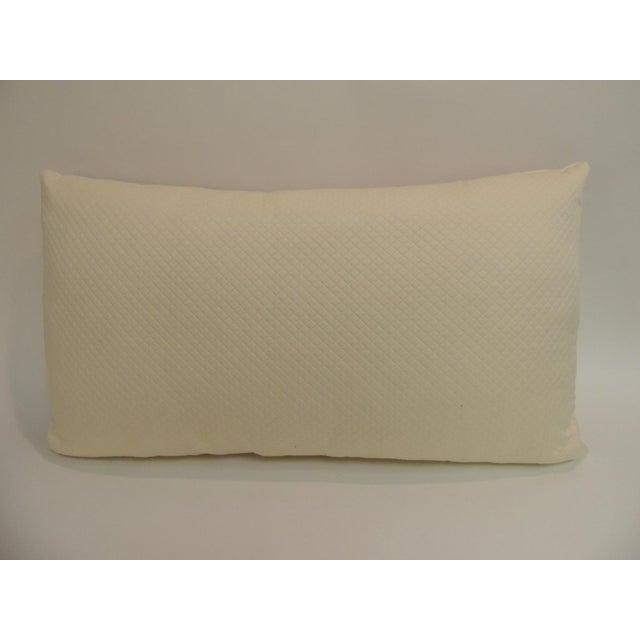 Vintage Ukrainian Woven Textile Bolster Boho Chic Style Decorative Pillow For Sale - Image 4 of 5