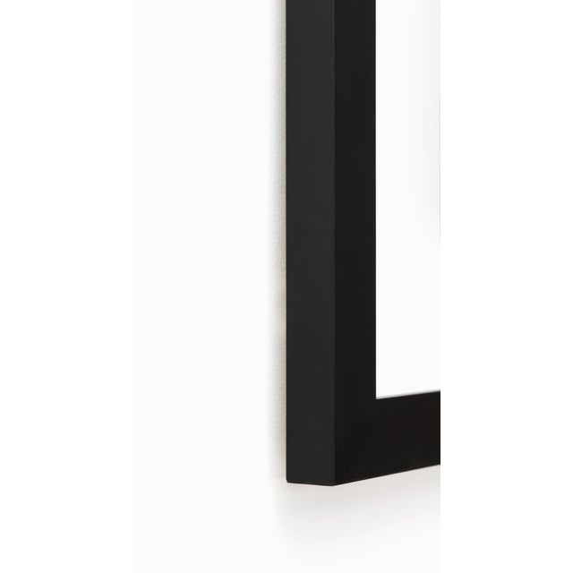DETAILS: – Custom premium hardwood frame moulding in matte black finish – UV-blocking acrylic glass, which protects...