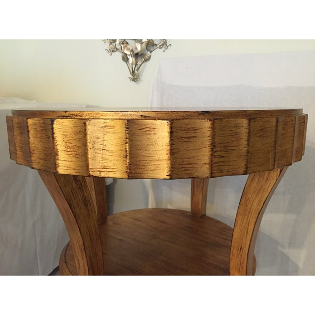 Stylish Gold Accent Table - Image 5 of 6
