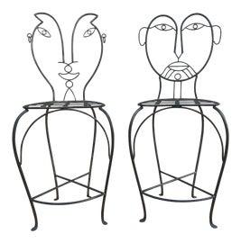 Image of Mid-Century Modern Bar Stools