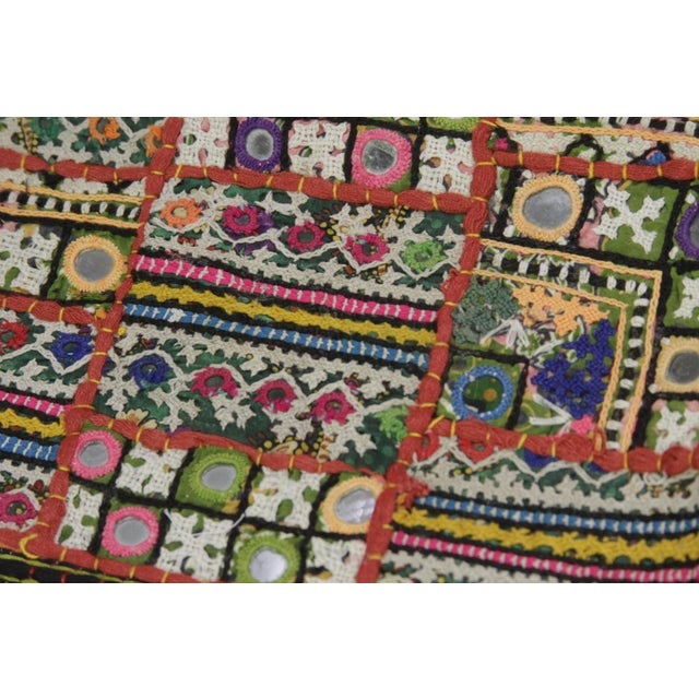 The captivating Jaislmer tapestry is a stunning accent with an extensive history. This vintage cotton fabric tapestry...