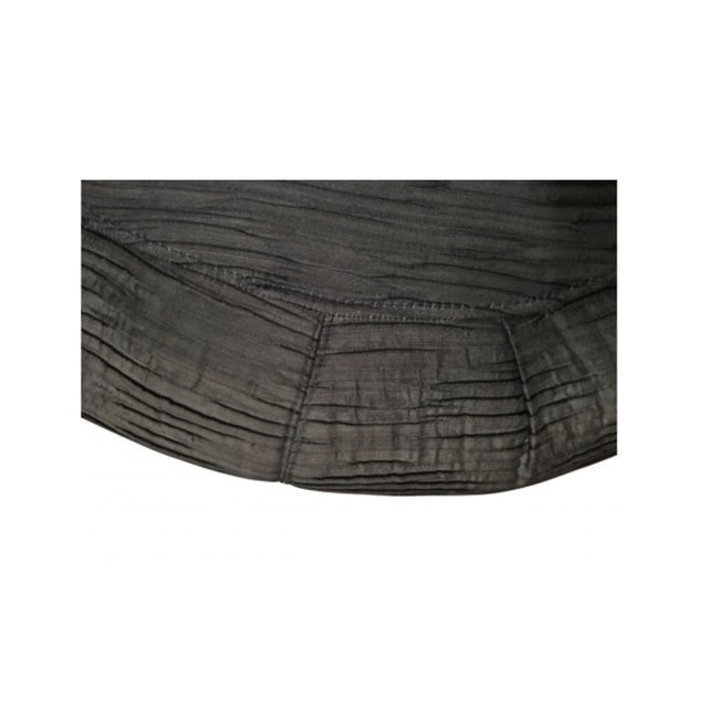 Contemporary Modern Large Ottoman With Nail Head Trim For Sale - Image 3 of 5