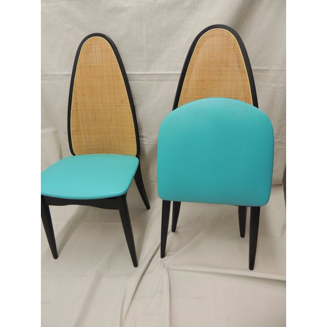 Stakmore Mid-Century Folding Chairs - A Pair - Image 4 of 8