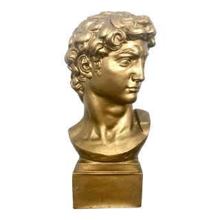 1964 Large David Bust Sculpture