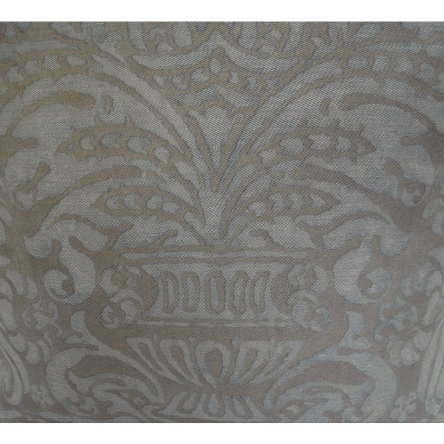 Vintage Fortuny Pillow - Image 3 of 3