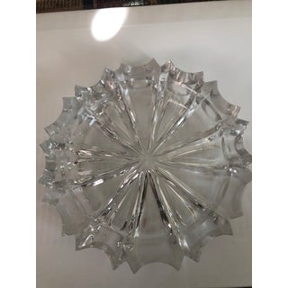 Vintage Crystal Block Cut Ashtray Preview
