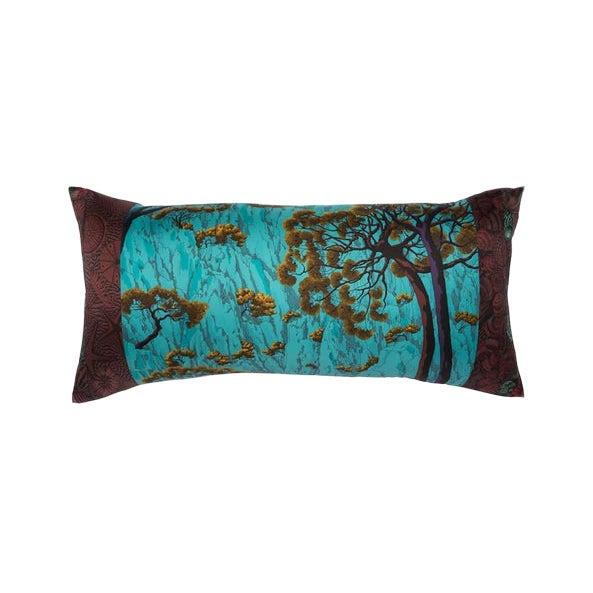 """Sieste Au Paradis"" Hermès Silk Scarf Pillow For Sale"